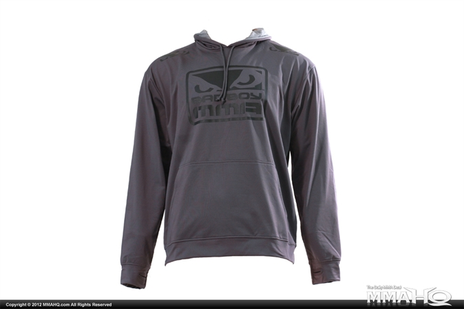 Bad Boy Steel Grey MMA Training Hoodie